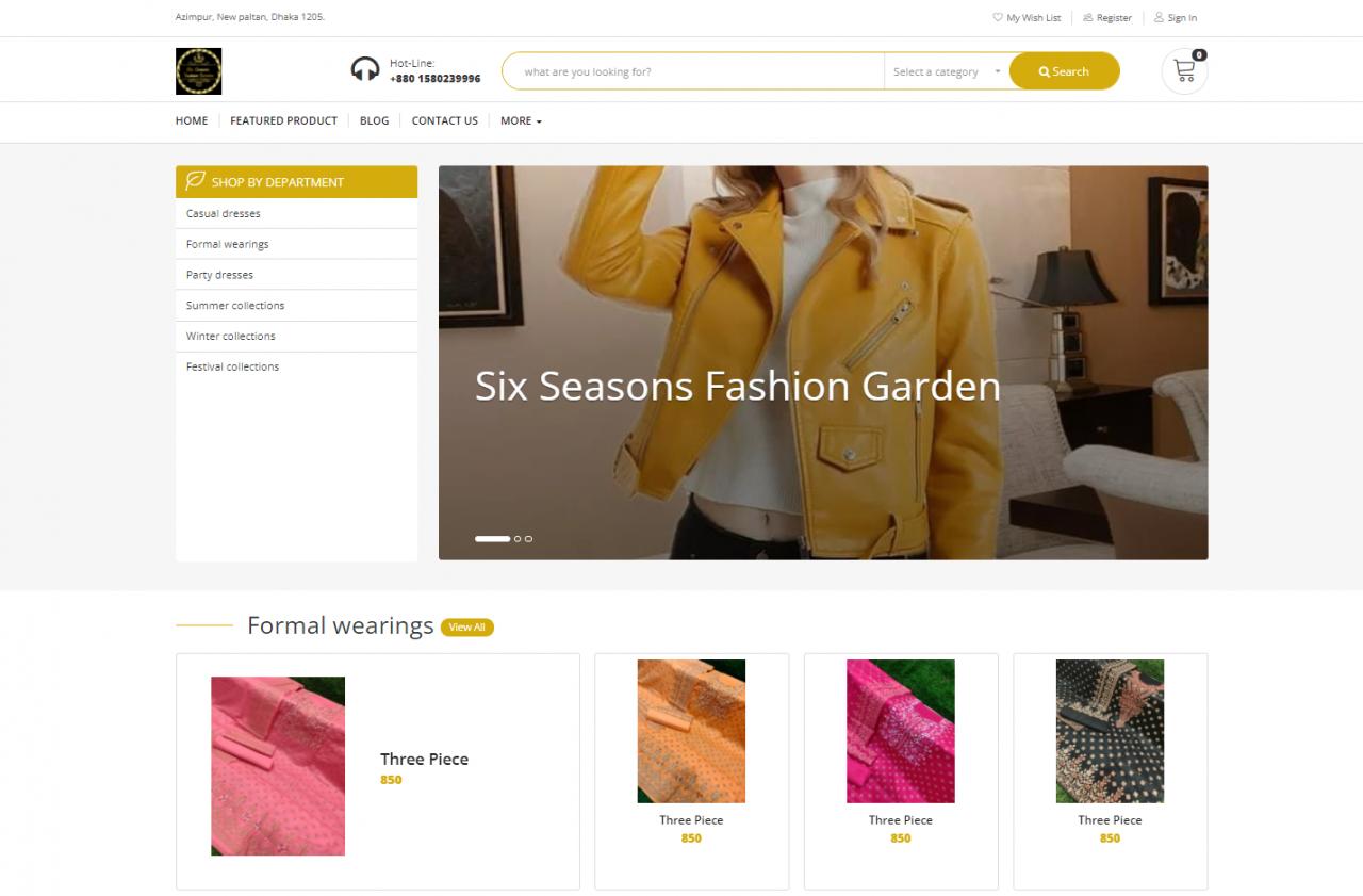 Six Seasons Fashion Garden | ষড়ঋতু জুড়ে ফুটে থাকো ফুল!